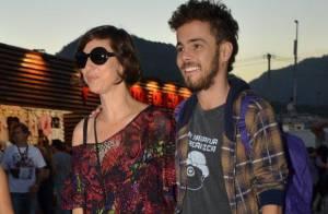 Rock in Rio: Maria Paula chega com novo namorado, Victor, de 23 anos