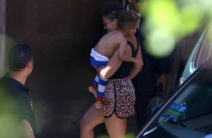 Rock in Rio: De shortinho, Alicia Keys deixa hotel para show no festival