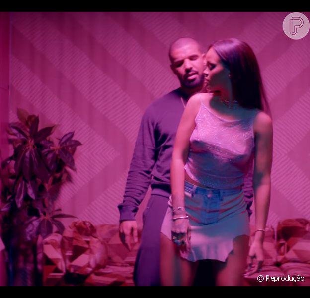 Rihanna e Drake aparecem sensuais em novo clipe da cantora, 'Work', lançado nesta segunda-feira, 22 de fevereiro de 2016