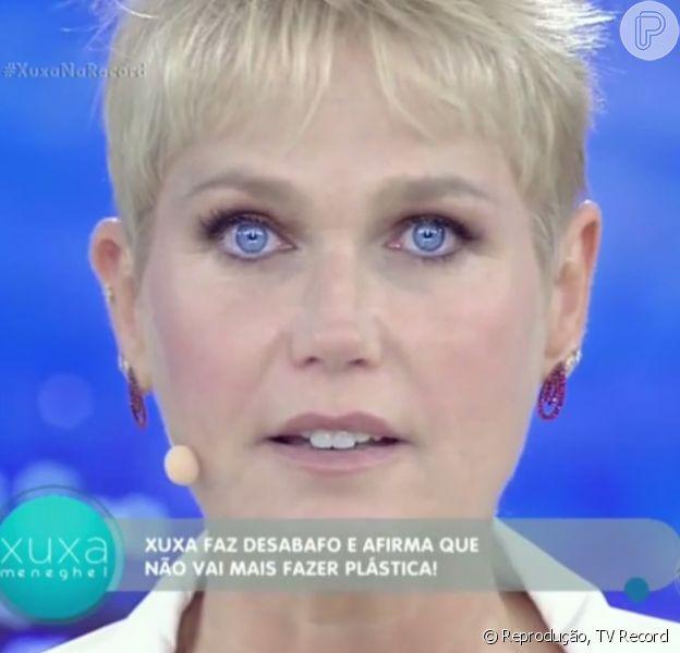 Xuxa fez um desabafo em relação ao culto ao corpo perfeito: 'Estou velha, sim!'