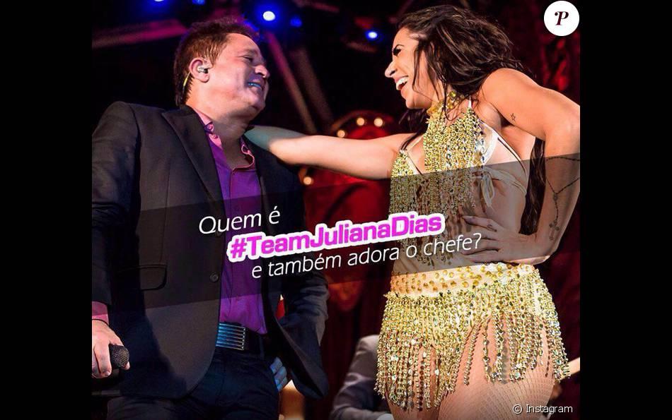 Leonardo diz que as portas estão abertas caso Juliana seja eliminada do 'BBB16' no Paredão desta terça-feira, 23 de fevereiro de 2016