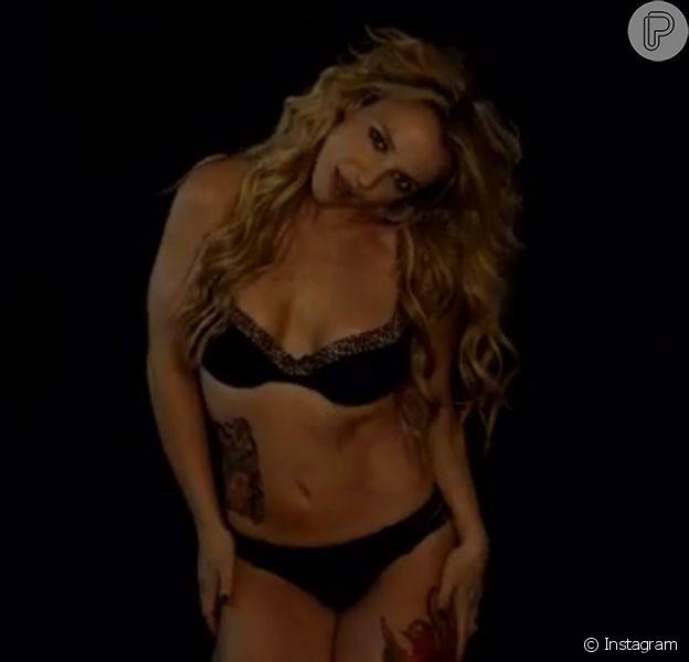 Britney Spears esbanja sensualidade ao postar prévia de novo clipe no Instagram