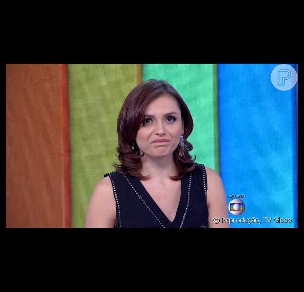 Monica Iozzi teve o visto negado pelo consulado americano, diz o colunista Ancelmo Gois, do jornal 'O Globo', nesta quinta-feira, 25 de fevereiro de 2016