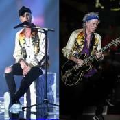 Keith Richards, dos Stones, repete jaqueta de R$ 11 mil usada por Justin Bieber