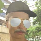 Grazi Massafera aparece de bigode em montagem e fãs apontam: 'Tá a cara do Cauã'