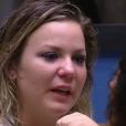 'BBB16': após discussão com Geralda, Maria Claudia chora e xinga.'Velha nojenta'. briga aconteceu neste domingo, 28 de fevereiro de 2016
