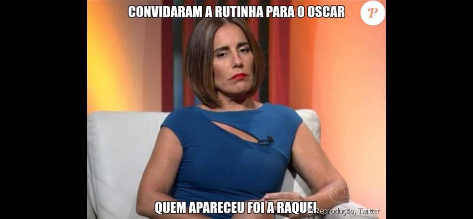 Glória Pires virou meme nas redes sociais após falas não analíticas em sua estreia como comentarista, no Oscar2016 ', que se deu no domingo, 28 de fevereiro de 2016