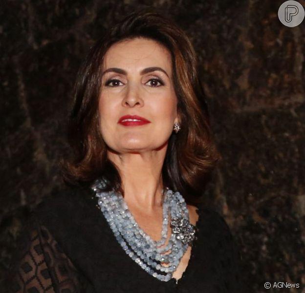 Fátima Bernardes foi diagnosticada com virose e, por isso, não está comandando o 'Encontro'