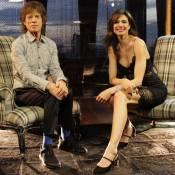 Luciana Gimenez conversa com Mick Jagger sobre o filho Lucas: 'Sou sortudo!'