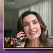 Fátima Bernardes recebe alta após ser diagnosticada com faringite, diz jornal