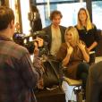 Ellen Rocche compartilhou o momento de preparação para a mudança de visual com seus seguidores