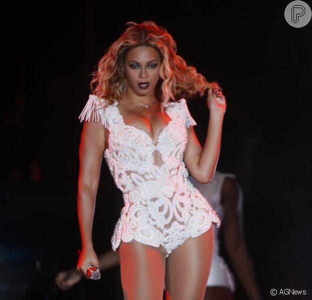 Beyoncé volta ao Brasil em 2014 para cantar no megashow da Copa do Mundo, na Praia de Copacabana, Zona Sul do Rio de Janeiro. O ex-Bealte Paul McCartney também é presença confirmada