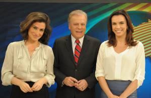 Renata Vasconcelos se despede do 'Bom Dia Brasil' para assumir o 'Fantástico'