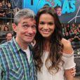 Bruna Marquezine nega romance com Neymar no 'Altas Horas', da TV Globo