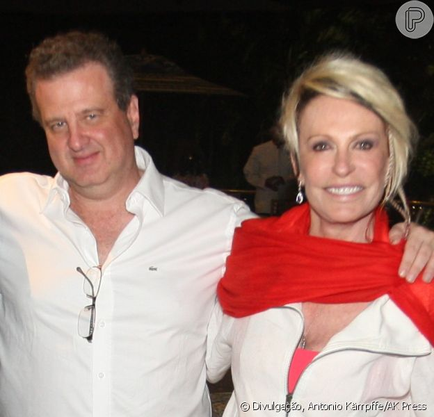Ana Maria Braga está namorando o empresário Mauro Bayout (07 de outubro de 2013)