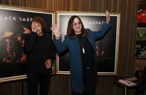 Ozzy Osbourne se diverte em coletiva da 1° turnê com o Black Sabbath no Brasil