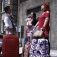 Ignácio (Carlos Machado) levou Valdirene (Tatá Werneck) e Márcia (Elizabeth Savala) para morar com ele e sua mãe, Eudóxia (Ângela Rabelo), em 'Amor à Vida'