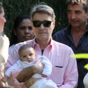 Filho de Eike Batista e Flávia Sampaio, Balder, é batizado no Rio