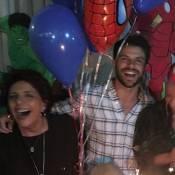 Sabrina Sato faz festa com tema super-heróis no aniversário de Duda Nagle
