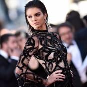 Kendall Jenner rouba cena com look transparente Cavalli no Festival de Cannes