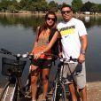Ronaldo passou uma temporada na Europa com a namorada, Paula Morais