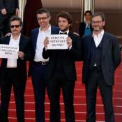 Humberto Carrão é criticado após protesto em Cannes: 'Não representa o Brasil'