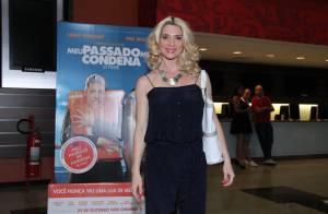 Patricia Pillar e Leticia Spiller prestigiam pré-estreia de filme, no Rio