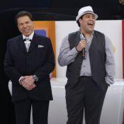 Tiago Abravanel divide palco do Teleton com o avô, Silvio Santos: 'Muito feliz'