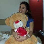 Maria Melilo deixa hospital após cirurgia e planeja: 'Podem aguardar casamento'