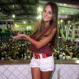 A jovem Catarina Migliorini foi destaque no Carnaval carioca de 2013 desfilando pela Mangueira, após ganhar fama nacional leiloando a sua virgindade