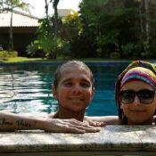 Magro, Netinho se recupera em casa de praia na Bahia: 'Quer curtir o carnaval'