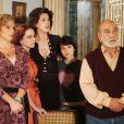 Em 'Belíssima', de 2006, contracenando com Murat (Lima Duarte), Katina (Irene Ravache), Safira (Claudia Raia), Maria João (Bianca Comparato), Soraya (Enrica Duncan)