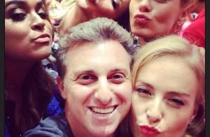 Angélica ganha festa de aniversário surpresa de Luciano Huck: 'Me emocionaram'