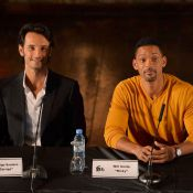 Rodrigo Santoro e Will Smith divulgam na Argentina filme rodado em Buenos Aires