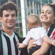 Sophie Charlotte e Daniel de Oliveira eram só alegria na torcida pelo Atlético Mineiro nesta segunda-feira, 08 de agosto de 2016l