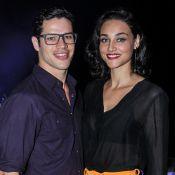 José Loreto sentiria ciúme de beijo de Débora Nascimento e Brad Pitt : 'Bonito'