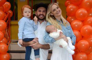 Carol Trentini comemora aniversário de 3 anos do filho Bento em SP. Fotos!