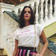 Bruna Marquezine posou com saia fendada para editorial de revista em Havana, capital de Cuba