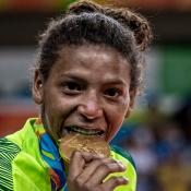 Rafaela Silva teve apoio da namorada na luta pelo ouro na Rio 2016:'Fundamental'