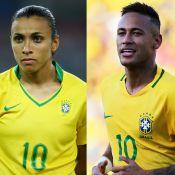 Rio 2016: Marta pede torcida por Neymar na Olimpíada. 'Apoiar as duas seleções'