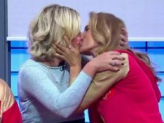Maitê Proença beija Astrid Fontenelle na boca em programa de TV: 'É gol!'