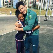 Simone Biles está namorando ginasta brasileiro Arthur Nory, afirma jornal