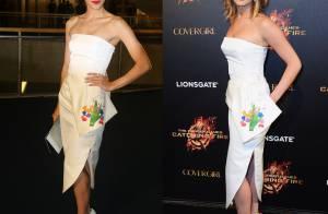 Carol Castro repete look Dior usado por Jennifer Lawrence no valor de R$ 19 mil