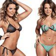 Fernanda Souza está em plena forma à base de dieta rigorosa e malhação; foto da revista 'Shape' de junho de 2012