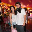 Humberto Carrão e Chandelly Braz parecem ter voltado às boas no relacionamento. Eles vão atuar em 'Geração Brasil', novela em que o ator faz par romântico com Isabelle Drummond