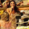 Isis Valverde dispensa dublagem e encara aulas de canto para viver a rainha do axé na microssérie 'O Canto da Sereia', em janeiro de 2013