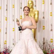 Jennifer Lawrence é eleita a mais bem vestida de 2013 por vestido usado no Oscar