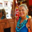 Vera Fischer, uma das convidadas de Boni, já começou a fazer dieta e voltou a se exercitar na orla do Rio para estar em forma no desfile, no Carnaval de 2014, em 9 de dezembro de 2013