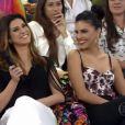 O programa também contou com a participação de Mariana Rios e Fernanda Paes Leme