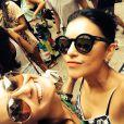 Lorena é uma das melhores amigas de Mariana. 'Obrigada por ser essa amiga psicologa que eu tanto amo! Love you!', legendou a atriz uma foto publicada no Instagram